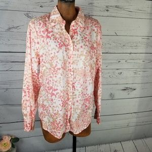 ⚡Gap Button Down Blouse Size XL